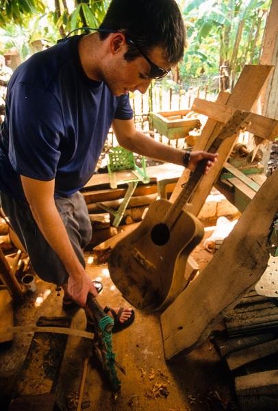 Jackfruit Planks in Jun\'s Guitar Workshop