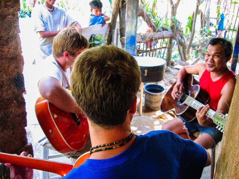 Acoustic Jam at Jun\'s Guitar Workshop