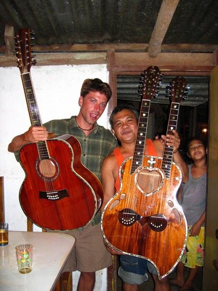 Antique Jackfruit Acoustic 12-string Guitar