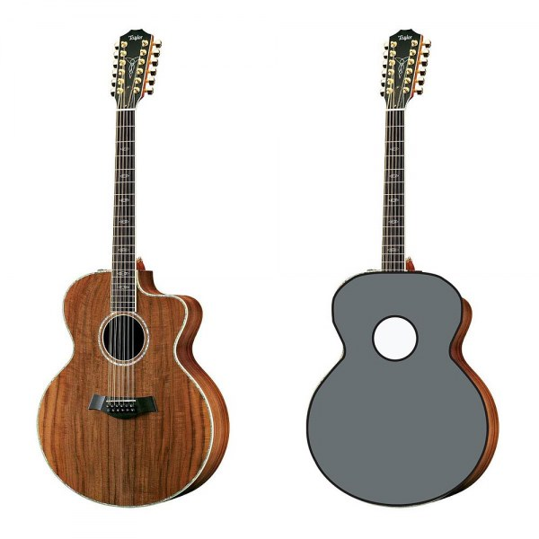 Guitar Pattern for Taylor W65 12 String Jumbo