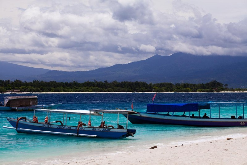 Gili Trawangan Beach Photos