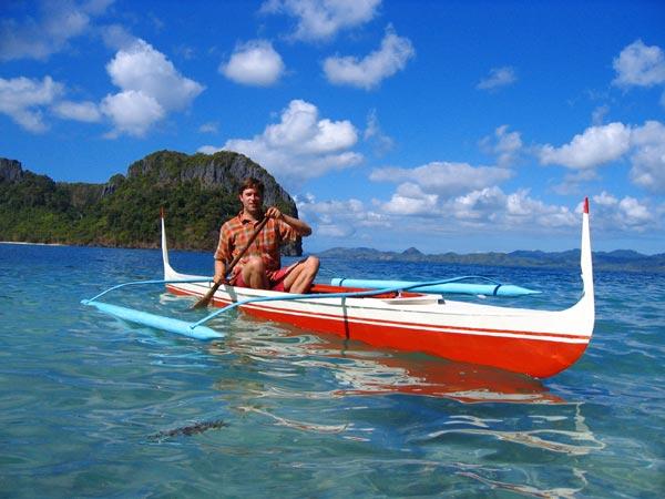 sea kayaking palawan el nido to monkey point