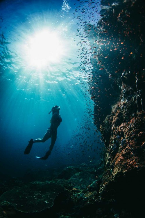 Freediving the Wall