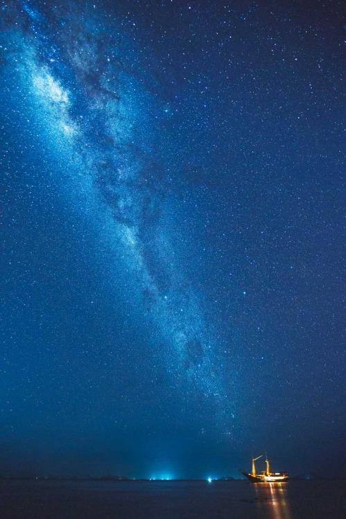Milky Way Sailing