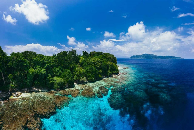South Pacific Island Paradise