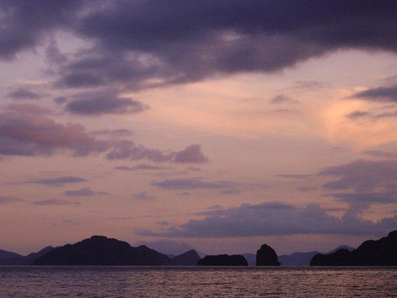 El Nido Archipelago Sunset