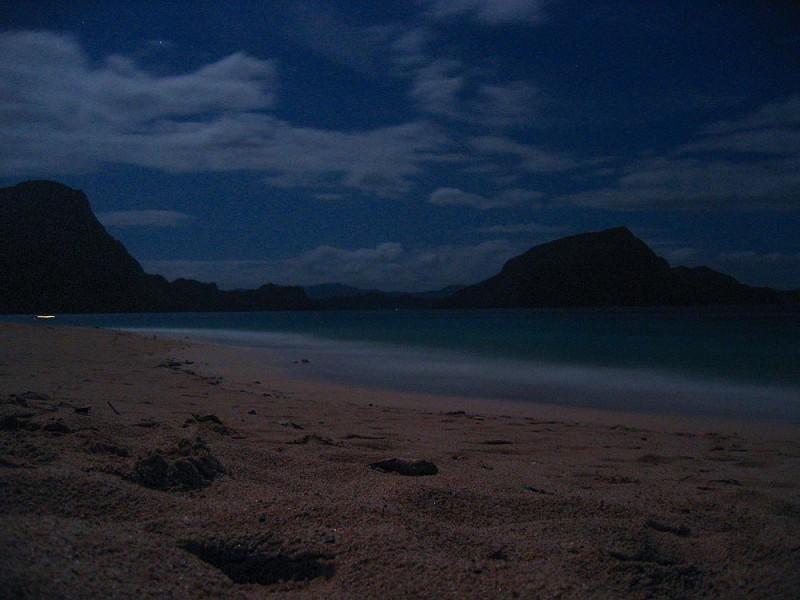 Beach Night in Palawan