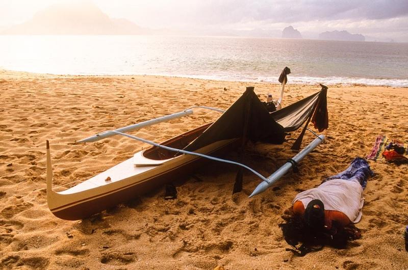Beach Sunrise on Dilumacad Island