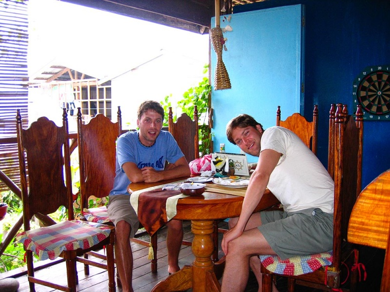 Breakfast at the Shipwreck Restaurant in El Nido