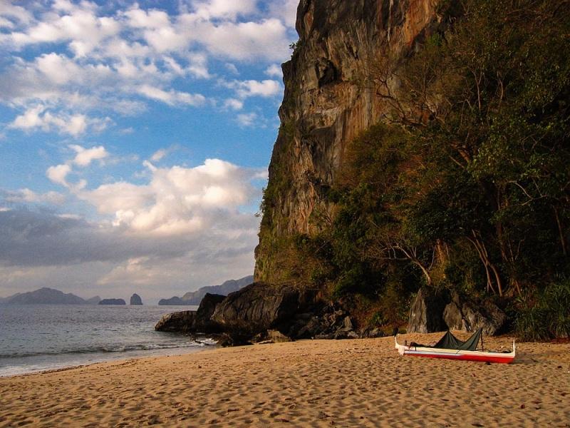 Palawan Beach Camping