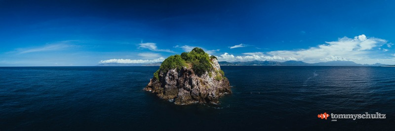 Aerial Photos - Liveaboard Dive trip East of Flores Island, Indoneisa