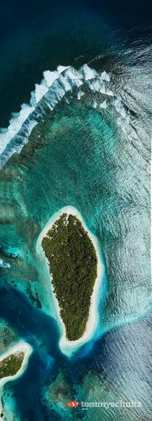 Mentawai Island Aerial Photos: Surfing and Island Life
