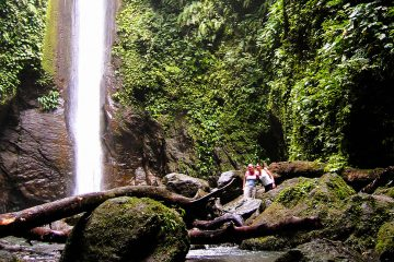 Canyoning at the Casaroro Waterfall near Dumaguete
