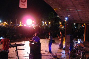 The Buglasan Big Stage in Dumaguete, Oriental Negros