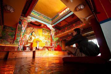 Meeting the Dalai Lama in Dharamsala, India