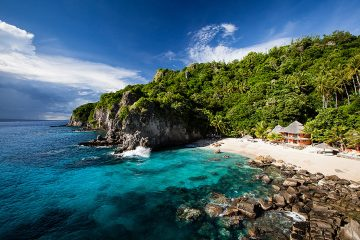 This photo of Apo Island was featured in ISLANDS magazine as the 'Get Here' destination in February 2015