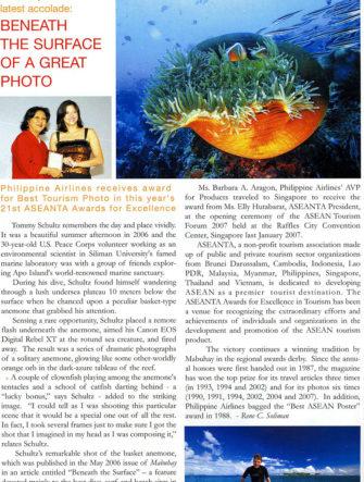 Best Tourism Photo Award - 2007 | Association of Southeast Asian Nations Tourism Association (ASEANTA)