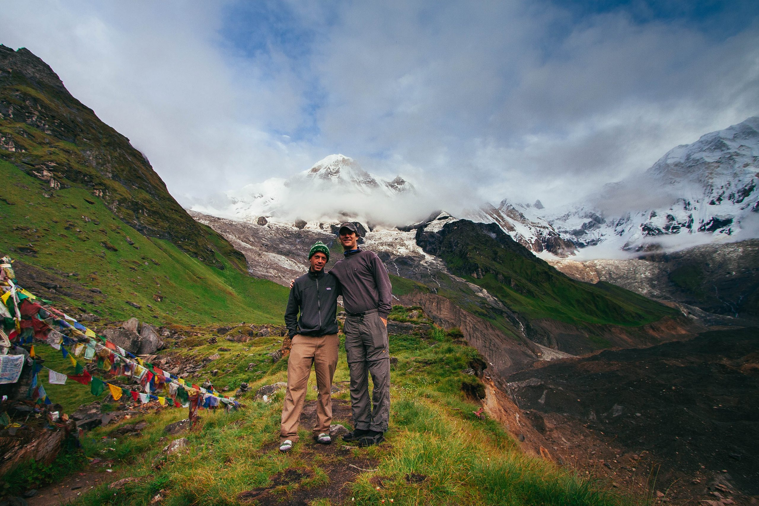 The Annapurna Trek in the Himalayas of Nepal