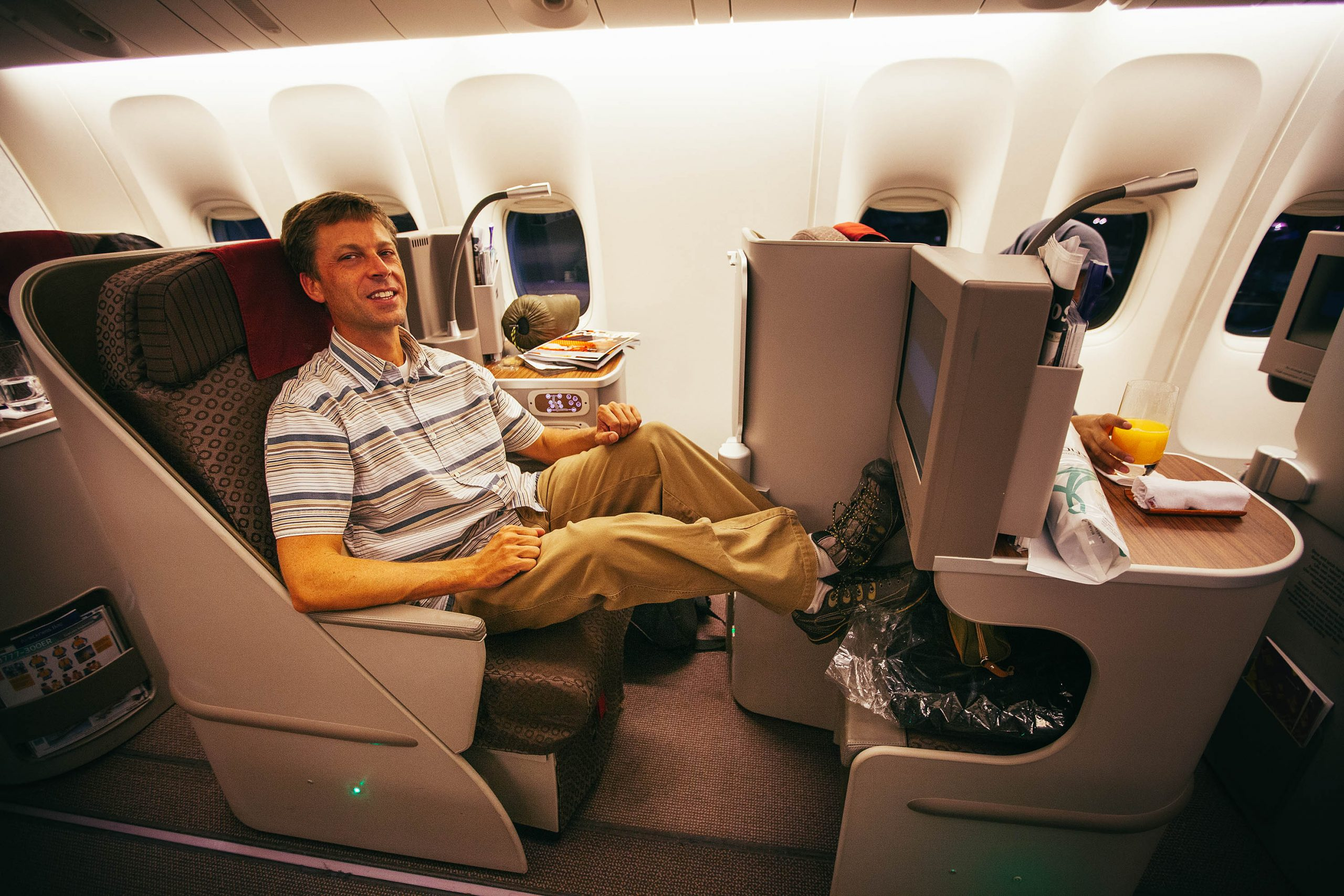 First Class Upgrade: Tokyo to Jakarta on assignment with Garuda Indonesia