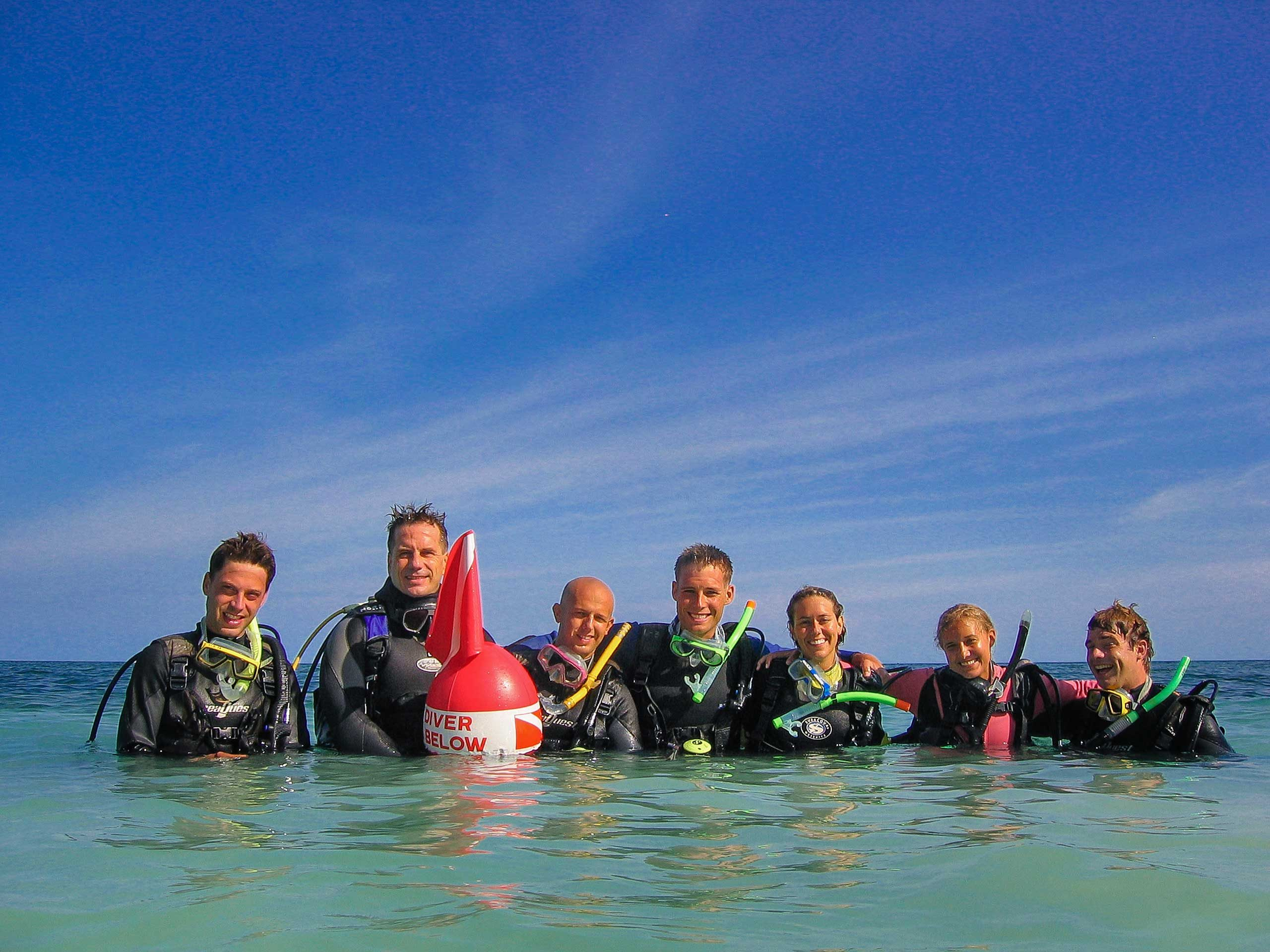 Peace Corps Batch 263 scuba class with Holger Horn on Panglao Island in the Philippines