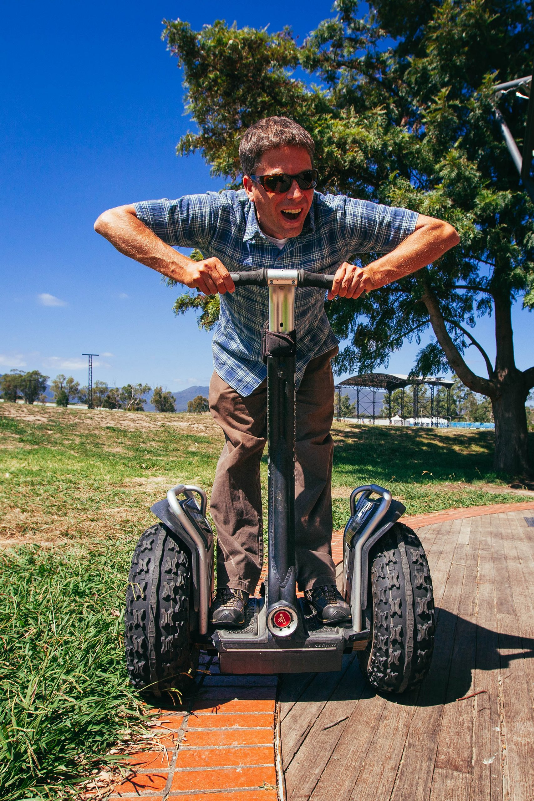 Segway lessons on assignment in Melbourne, Australia