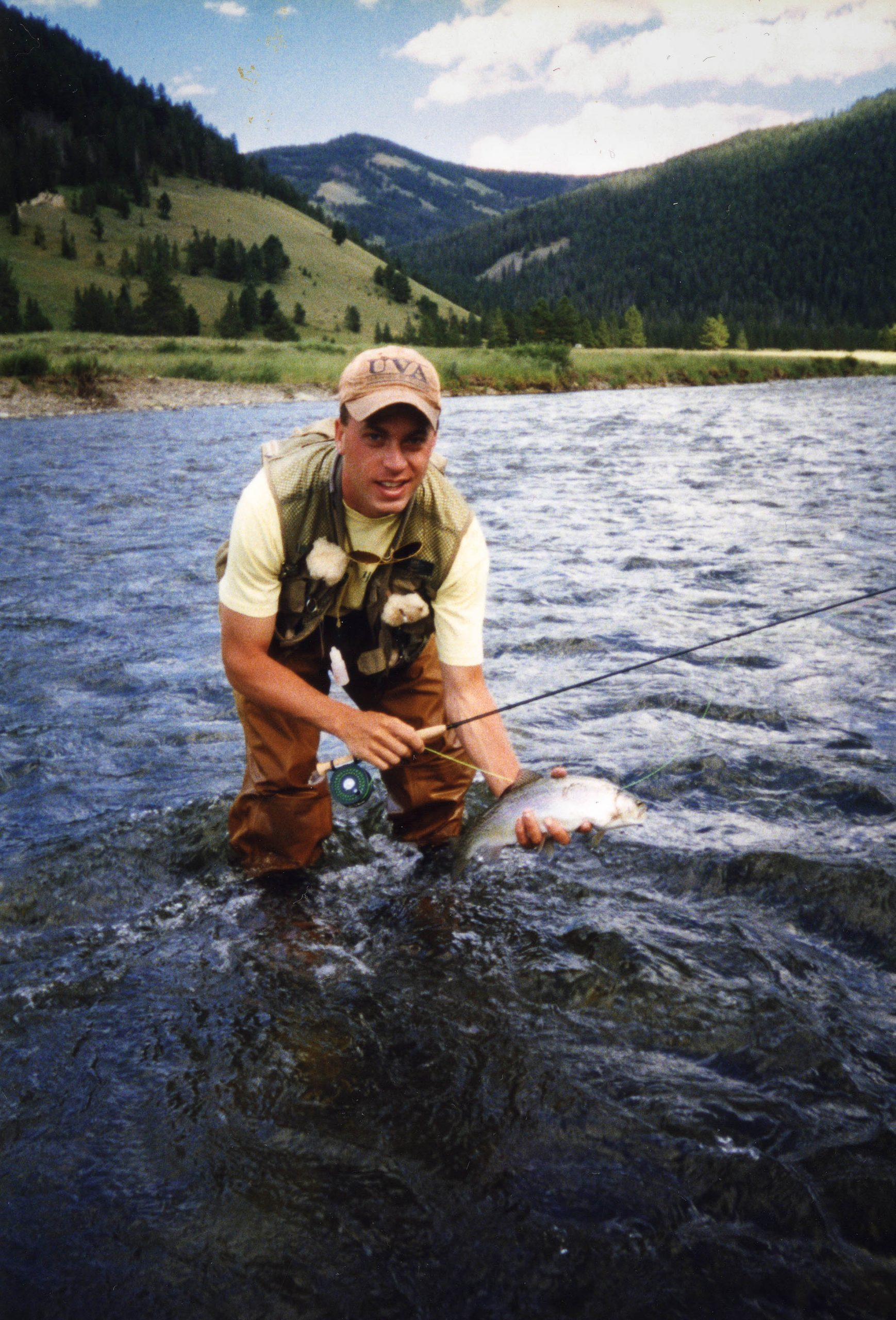 Fly fishing for wild rainbow trout in Montana | Photo by John Muhler