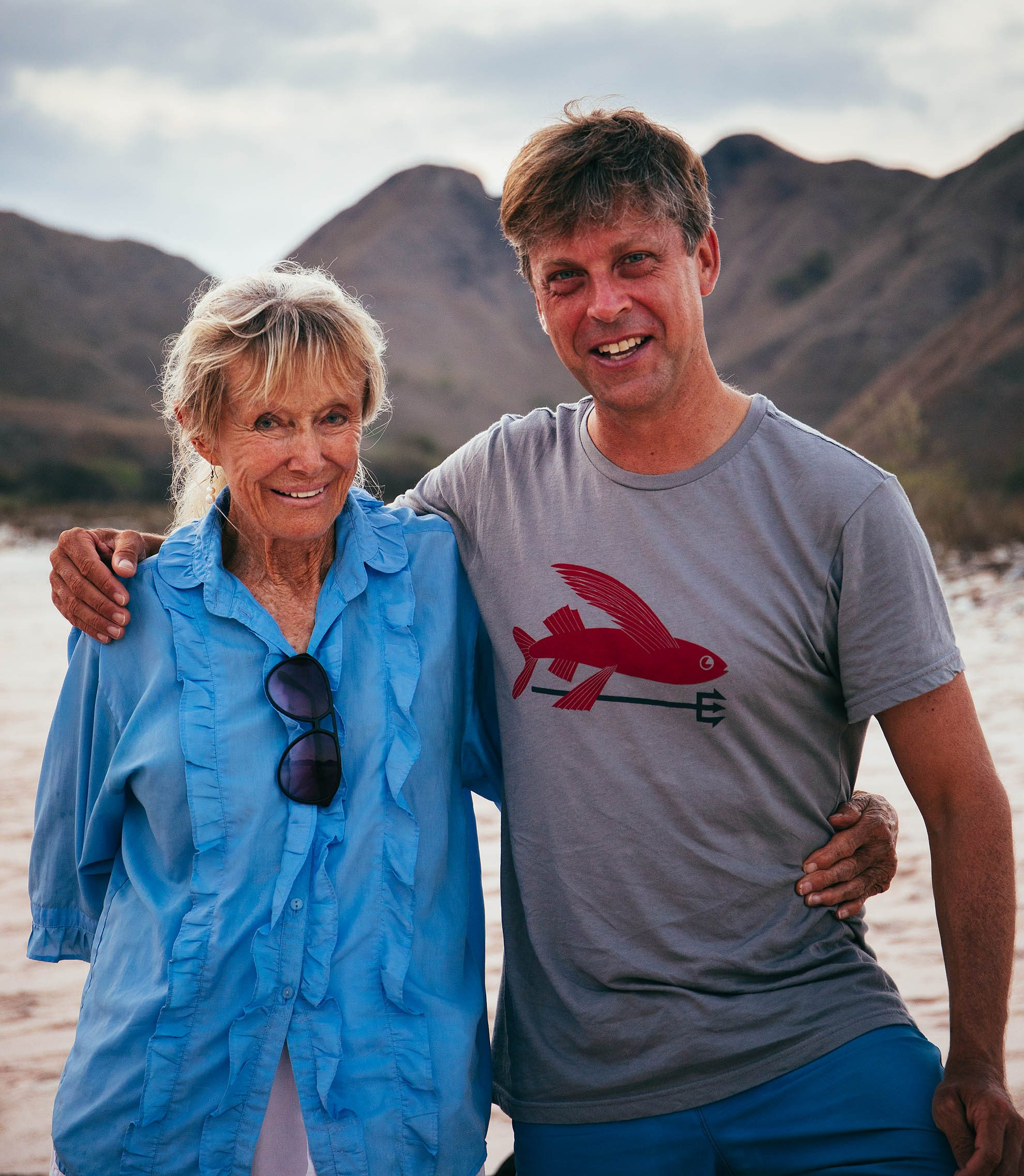 Diving Komodo with Valerie Taylor on the Seven Seas